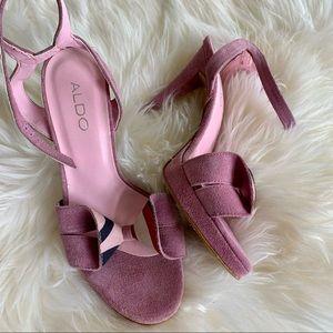 Aldo Pink High heels Platforms. Made in Italy 37